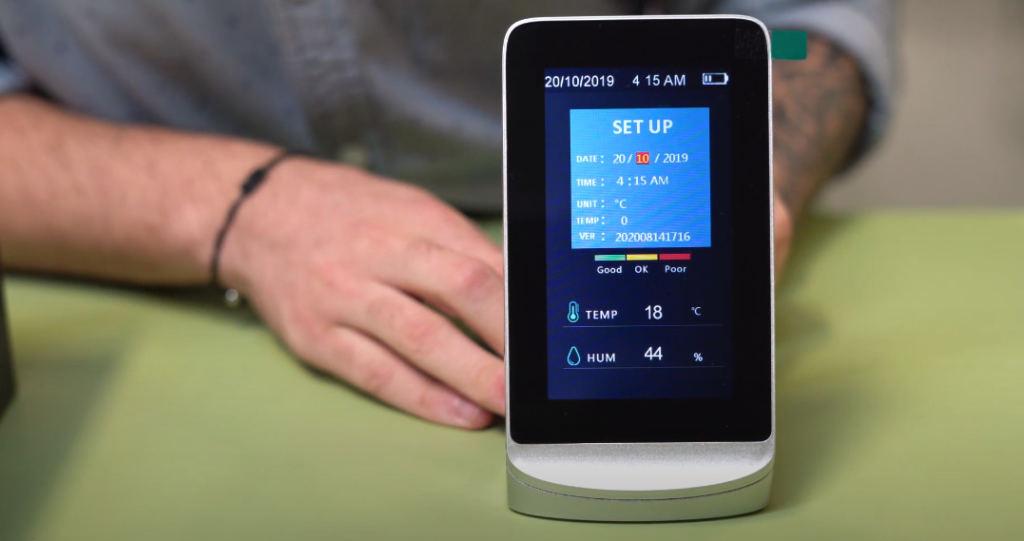 medidores de CO2 de Evosani
