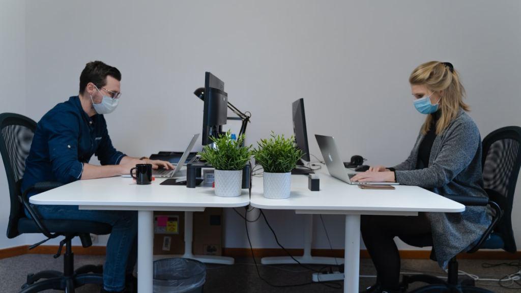 concentración CO2 en la oficina