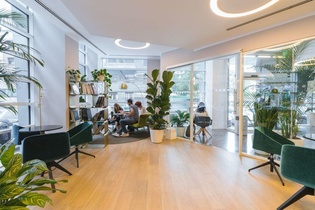 control del aire en oficinas y negocio